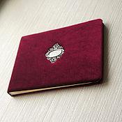 """Книги ручной работы. Ярмарка Мастеров - ручная работа Книга пожеланий """"Королевская классика"""". Handmade."""