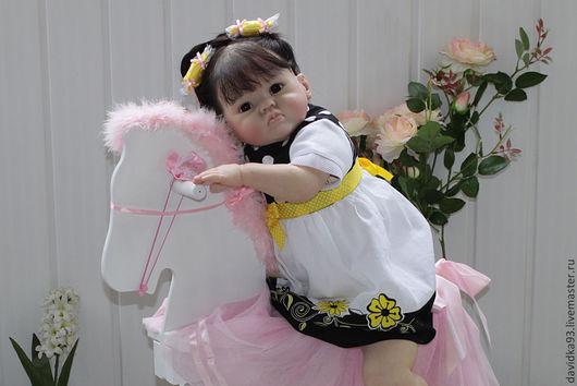Куклы-младенцы и reborn ручной работы. Ярмарка Мастеров - ручная работа. Купить Евдокия 2. Handmade. Кукла ручной работы