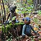Мишки Тедди ручной работы. медвежонок. Handmade by Rita. Интернет-магазин Ярмарка Мастеров. Мишка, осенний подарок, шерсть