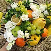 Букеты ручной работы. Ярмарка Мастеров - ручная работа Букет из фруктов. Handmade.