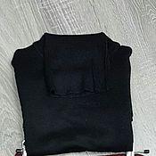 Одежда handmade. Livemaster - original item Turtleneck black. Handmade.