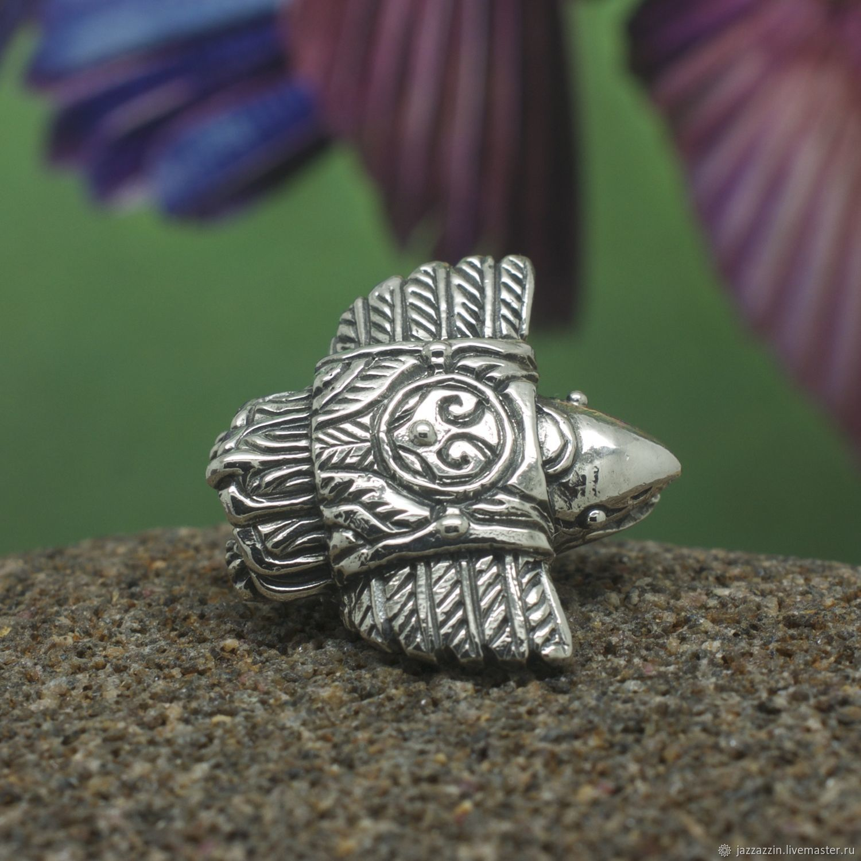 All for Jewelry Making handmade. Livemaster - handmade. Buy Kutkh charm.Fantasy, crow, raven, kutkh