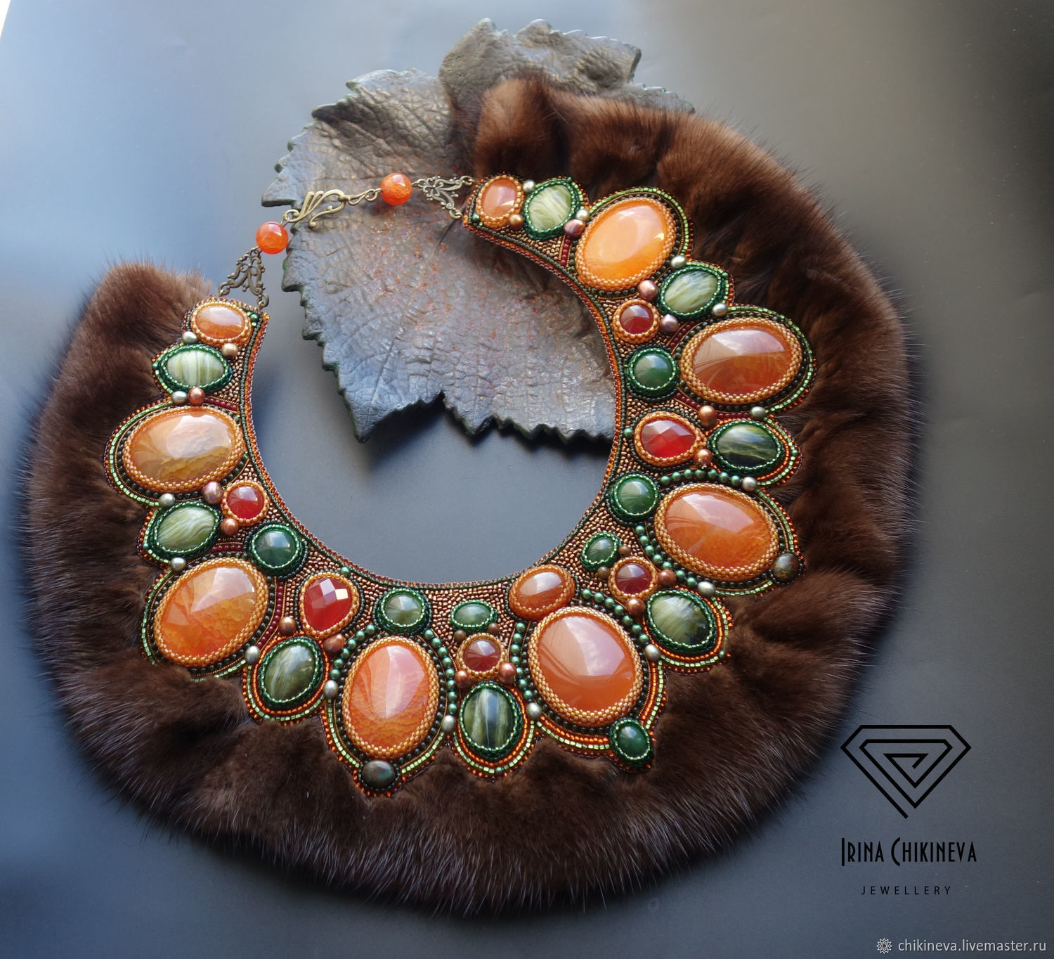 Pauldrons Of ' Royal', Necklace, Moscow,  Фото №1