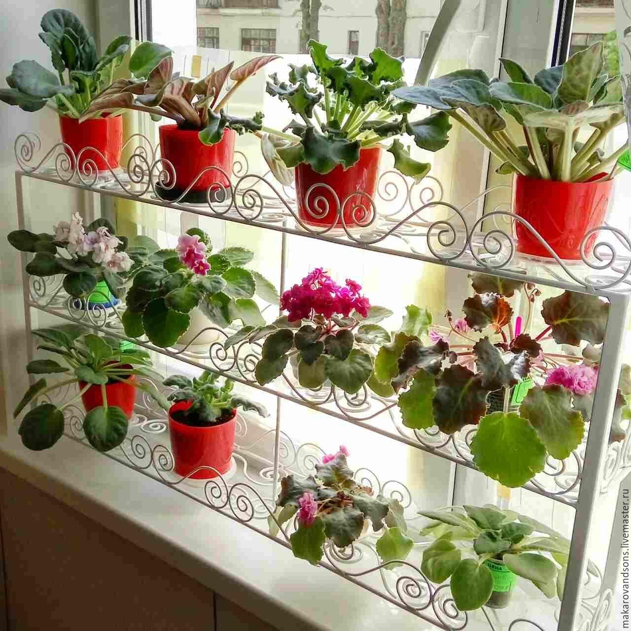 Shelf For Window Sill Flower Openwork. Makarovu0026sons.