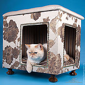 Для домашних животных, handmade. Livemaster - original item House for dogs and cats to order in the desired color and size.. Handmade.