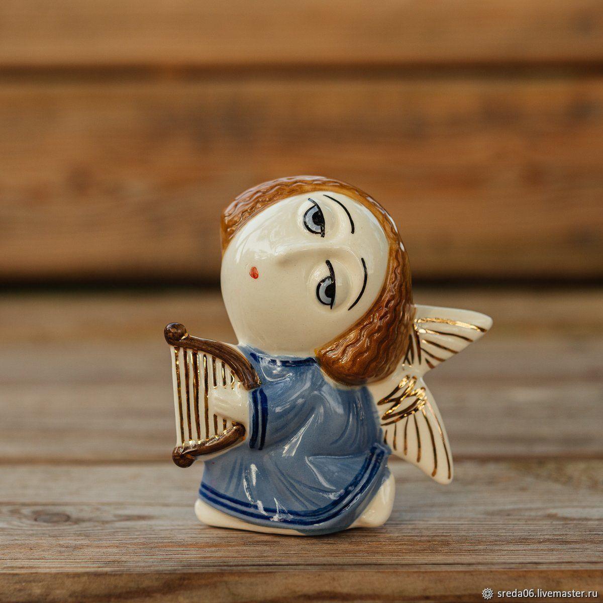 Ангел с Арфой, Статуэтка, Сергиев Посад,  Фото №1