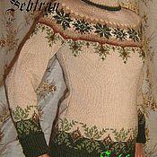 """Одежда ручной работы. Ярмарка Мастеров - ручная работа Свитер связанный на спицах  """"Сказочный Эльф"""", авторская работа. Handmade."""