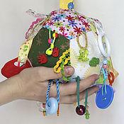 Куклы и игрушки ручной работы. Ярмарка Мастеров - ручная работа Развивающий мячик. Handmade.