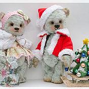 Куклы и игрушки ручной работы. Ярмарка Мастеров - ручная работа А я -Санта Клаус! авторский мишка тедди. Handmade.