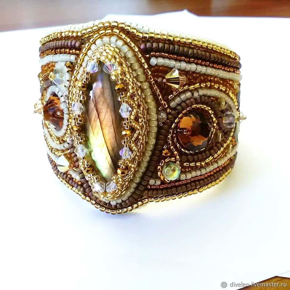 Amina. Bracelet with natural labradorite.Oriental style, Bead bracelet, Divnogorsk,  Фото №1