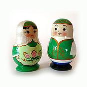 Русский стиль handmade. Livemaster - original item matryoshka magnet