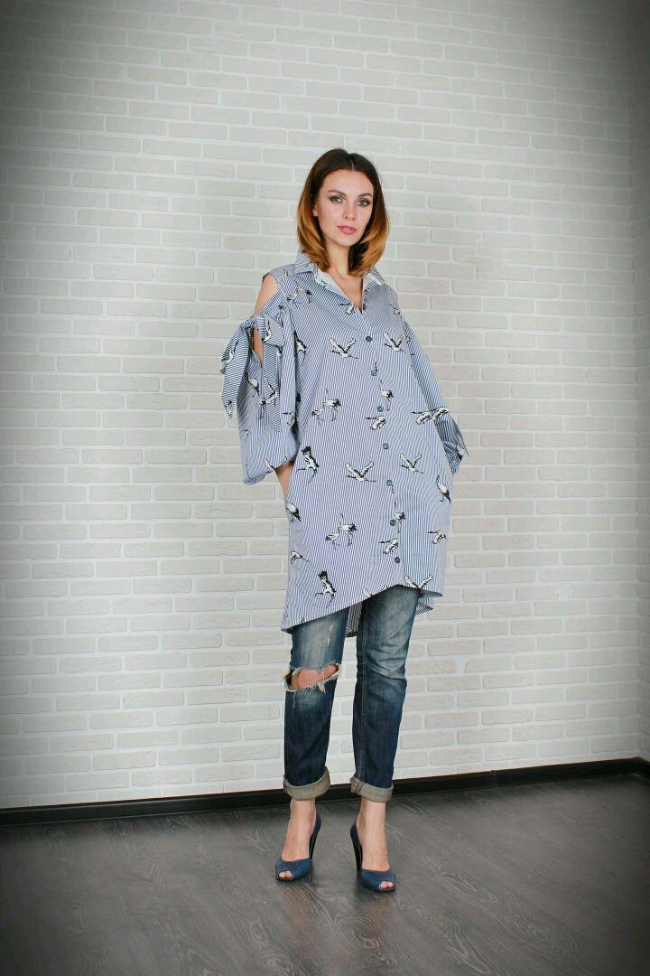 Universal shirt dress, Dresses, Moscow,  Фото №1