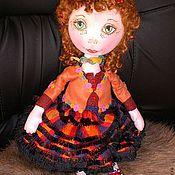 Куклы и игрушки ручной работы. Ярмарка Мастеров - ручная работа Подсолнушка (кукла текстильная). Handmade.