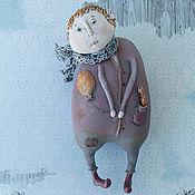 Куклы и игрушки handmade. Livemaster - original item Redhead Angel Toby. Textile doll.. Handmade.