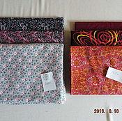 Материалы для творчества ручной работы. Ярмарка Мастеров - ручная работа ткани для лоскутного шитья в наборах. Handmade.