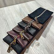 Сумки и аксессуары handmade. Livemaster - original item Leather cosmetic bag. Handmade.