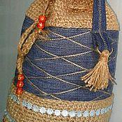 Сумки и аксессуары handmade. Livemaster - original item Bag-Torba denim. Handmade.