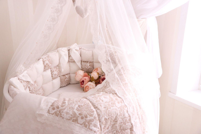 Купить Бортики в кроватку - бортики в кроватку, бортики, бортики в детскую кровать, бортики подушки, бомбон