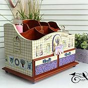 Для дома и интерьера handmade. Livemaster - original item Chest of drawers for cosmetics