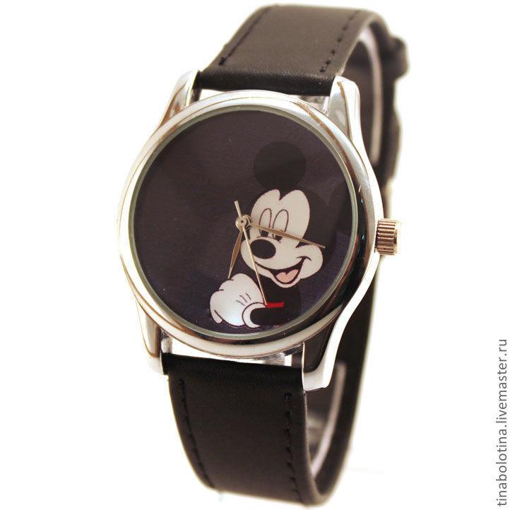 Часы наручные со своими рисунками механические наручные часы с камнями