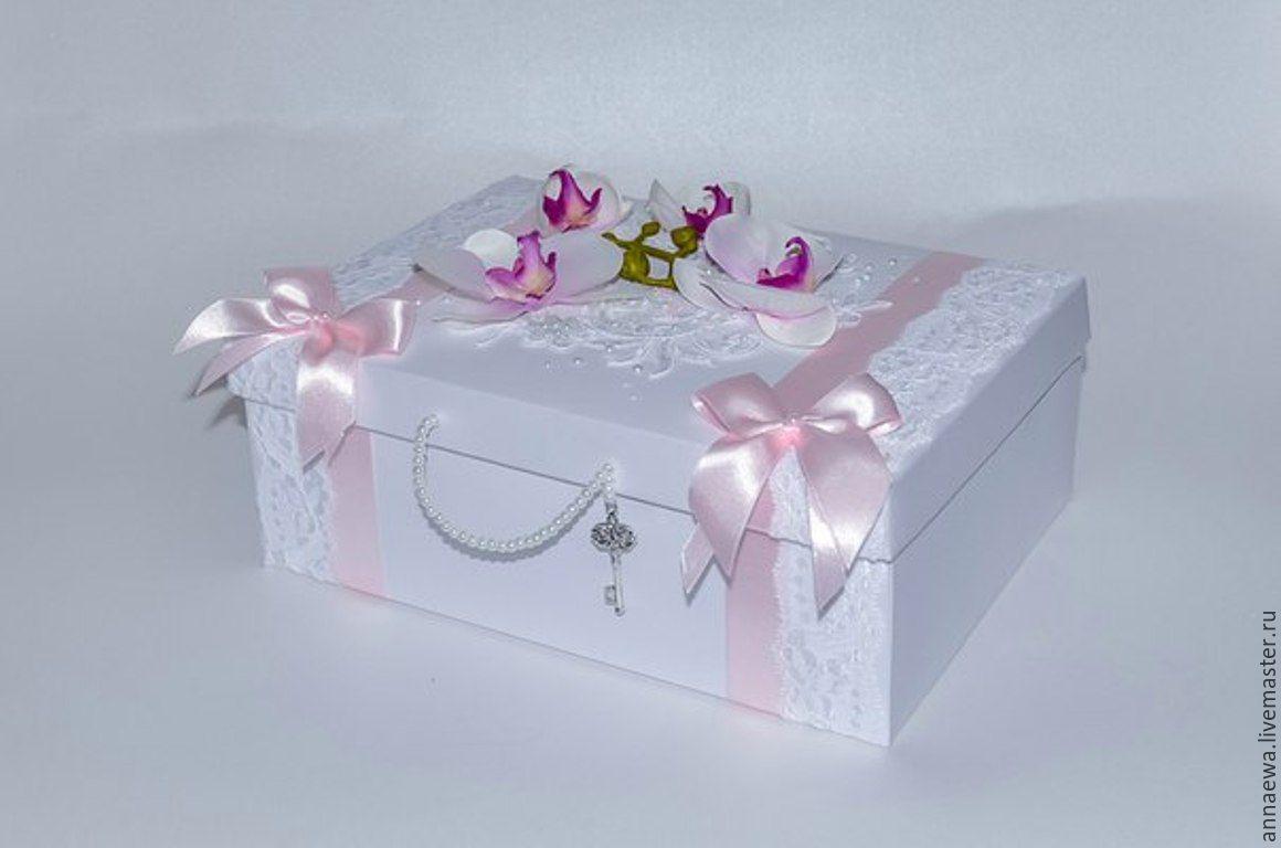 Коробка сундучок для денег своими руками