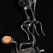 Для дома и интерьера ручной работы. Ярмарка Мастеров - ручная работа Кованый подсвечник.Сюррный.. Handmade.