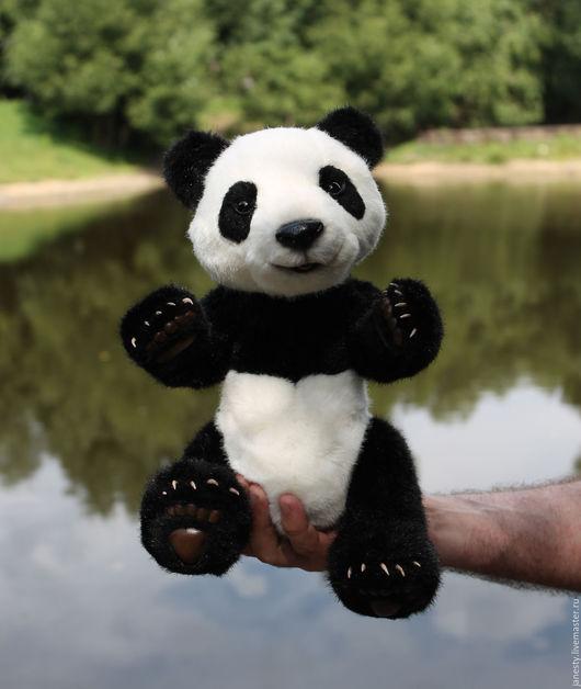 Мишки Тедди ручной работы. Ярмарка Мастеров - ручная работа. Купить Мишка Панда. Handmade. Панда тедди, подарок женщине