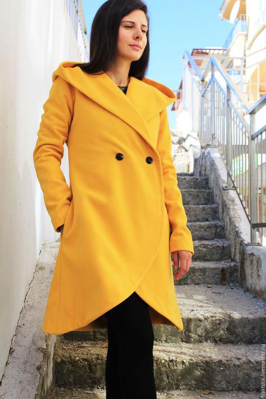 """Верхняя одежда ручной работы. Ярмарка Мастеров - ручная работа. Купить Зимнее пальто """" Winter Bell"""" C0016. Handmade."""