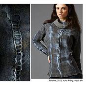 """Одежда ручной работы. Ярмарка Мастеров - ручная работа Туника ручной работы в технике """"шелковая бумага"""". Handmade."""