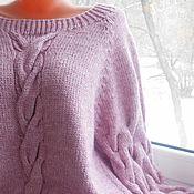 Одежда handmade. Livemaster - original item Sweater , jumper for womans 46-54 oversize comfortable style. Handmade.