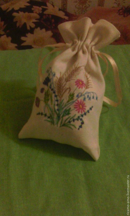Кухня ручной работы. Ярмарка Мастеров - ручная работа. Купить мешочки для трав. Handmade. Комбинированный, мешочек для хранения, мешочек для мелочей