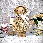 Тыквоголовка в стиле чердачной куклы