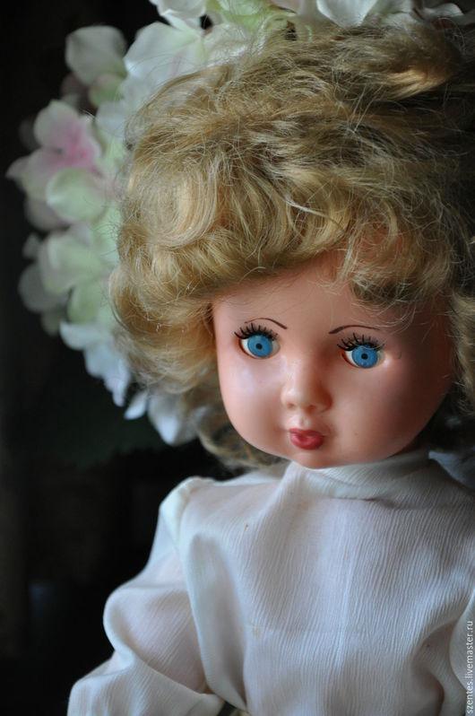 Винтажные куклы и игрушки. Ярмарка Мастеров - ручная работа. Купить Советская винтажная кукла. Handmade. Бежевый, коллекционная кукла