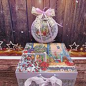 Сувениры и подарки handmade. Livemaster - original item Christmas set. Handmade.