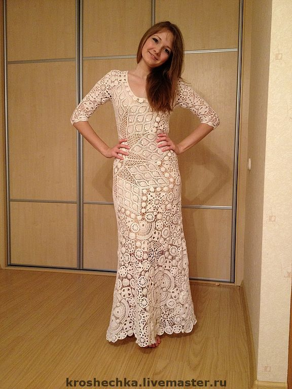 Интернет платье белое