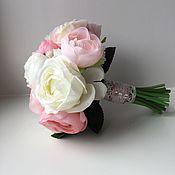 Цветы и флористика ручной работы. Ярмарка Мастеров - ручная работа Букет невесты из пионов. Handmade.