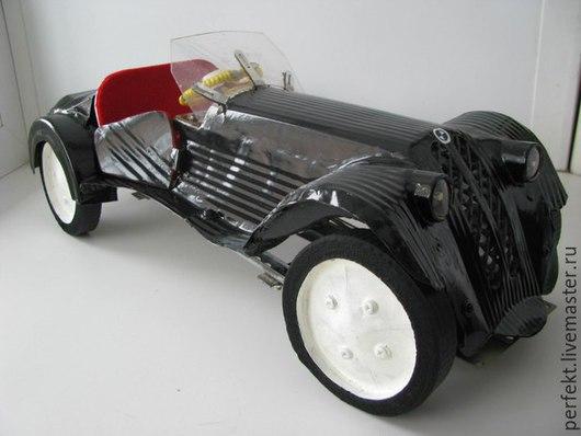 Комплекты аксессуаров ручной работы. Ярмарка Мастеров - ручная работа. Купить модель автомобиля BMW-327 sports. Handmade. Черный