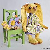 Куклы и игрушки ручной работы. Ярмарка Мастеров - ручная работа ЗАЙКА BERRY - ЯГОДКА!. Handmade.