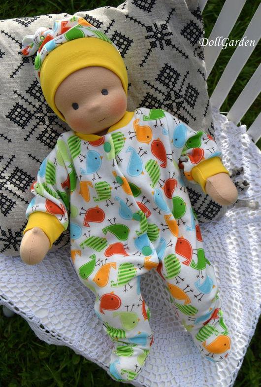 Вальдорфская игрушка ручной работы. Ярмарка Мастеров - ручная работа. Купить Вальдорфская кукла, пупс, ребёнок, младенец Антошка. Handmade.