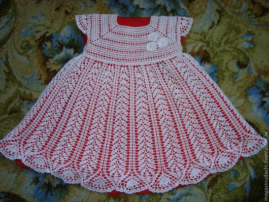 Одежда для девочек, ручной работы. Ярмарка Мастеров - ручная работа. Купить Платье для принцессы. Handmade. Однотонный, платье крючком