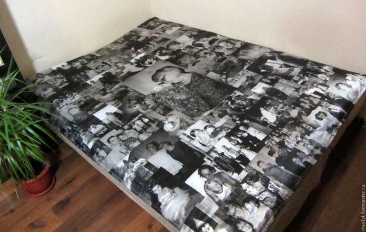 Персональные подарки ручной работы. Ярмарка Мастеров - ручная работа. Купить одеяло с фото. Handmade. Комбинированный, фотография, фото на одеяле