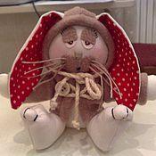 Куклы и игрушки ручной работы. Ярмарка Мастеров - ручная работа Грустный зайка. Handmade.