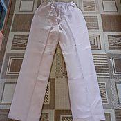 Мужская одежда handmade. Livemaster - original item Men`s linen trousers. Handmade.
