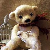 Куклы и игрушки ручной работы. Ярмарка Мастеров - ручная работа Медвежонок Элька. Handmade.