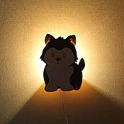 Для дома и интерьера handmade. Livemaster - original item Lamp night light Puppy. Handmade.