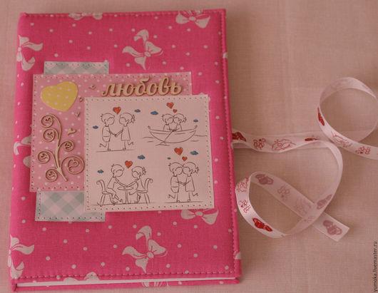 Блокноты ручной работы. Ярмарка Мастеров - ручная работа. Купить Романтический блокнот. Handmade. Розовый, чипборд, подарок, чипборд
