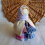 """Куклы и игрушки ручной работы. Ярмарка Мастеров - ручная работа Народная кукла-оберег """"Подорожница"""" Барышня. Handmade."""