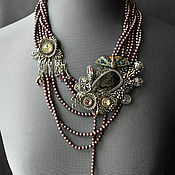 Украшения handmade. Livemaster - original item Multi-tramsforming Necklace Winter Dream of Summer. Handmade.
