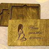 Подарки к праздникам handmade. Livemaster - original item Box box photos and flash. Handmade.
