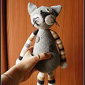 Куклы и игрушки handmade. Livemaster - original item Toy cat big. Handmade.